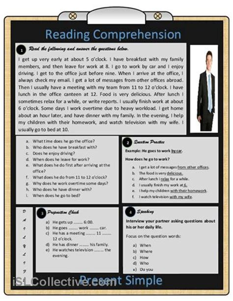 reading comprehension test middle school free reading worksheets for highschool students sugar