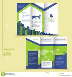 Folded Brochure Template by Tri Fold Brochure Template Slides Best Agenda