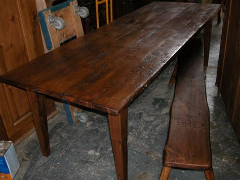 8 dining table farm harvest table from antique pine ebay