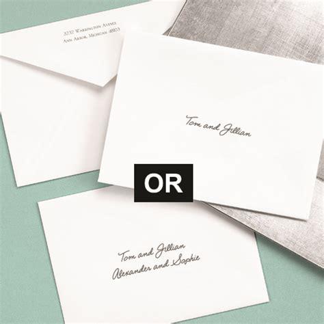 wedding invitation inner envelope names children at your wedding explores the topic