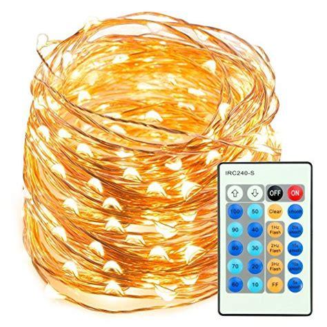 Led String Lights 66ft 200 Leds Taotronics Dimmable