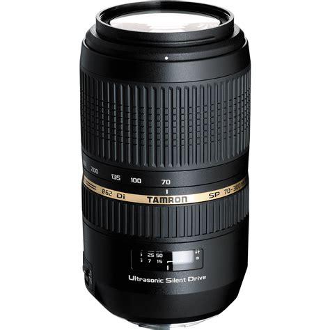 tamron sp 70 300mm f 4 5 6 di usd telephoto zoom afa005s 700 b h