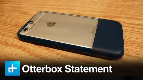 otterbox statement series case  iphone  review youtube