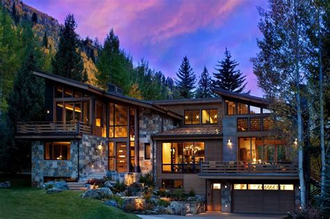 homes in the mountains captivating modern rustic home in the colorado mountains