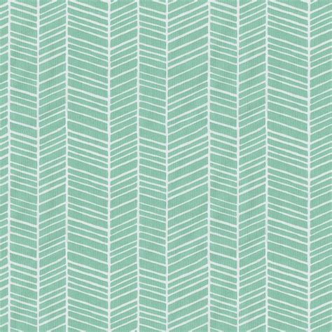 Crib Sheets by Mint Herringbone Crib Sheet Carousel Designs