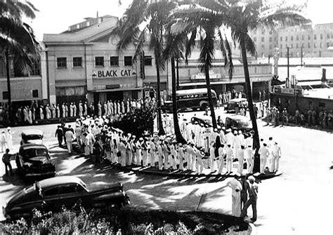 4 In 1 Honolulu Black 9cm hawaiian time machine vintage eats the black cat cafe 1941
