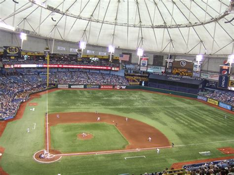 what is the seating capacity of tropicana field tropicana field ta bay rays ballpark ballparks of