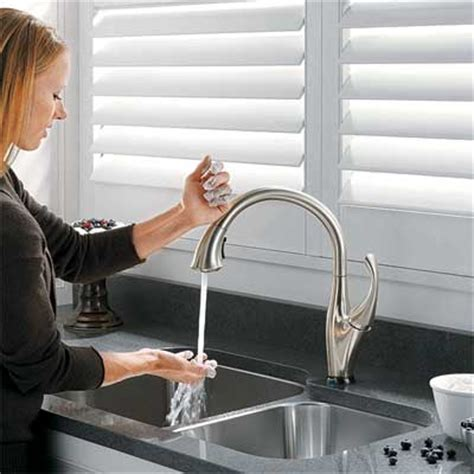 delta hands free kitchen faucet spout style hands free all about kitchen faucets this
