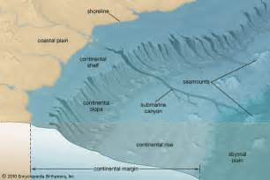 continental shelf geology encyclopedia britannica