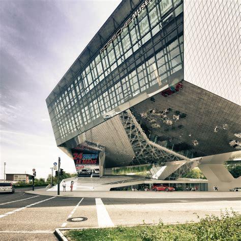 porsche museum architect karatzas highlights the architecture of delugan meissl s