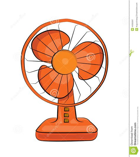 picture of a fan table fan stock illustration image 44305067