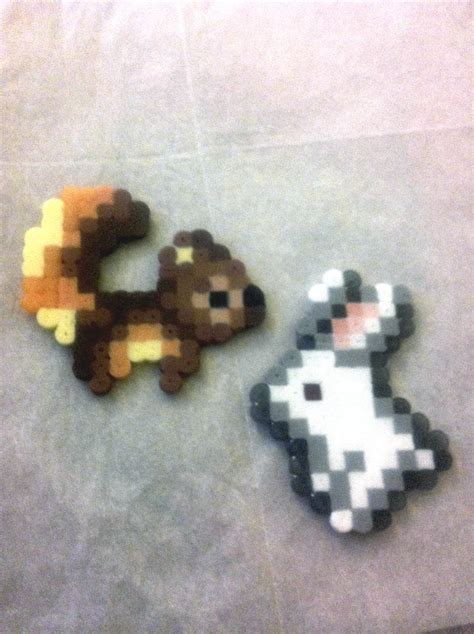 perler animals animals misc harvest moon bead sprite by flamemandala