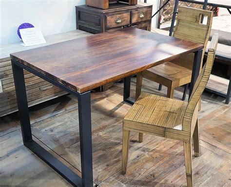 tavoli in teak tavolo teak massello stile industrial offerta prezzo outlet