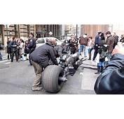 Batpod Up Close  Batman Bike At Dark Knight Rises Movie