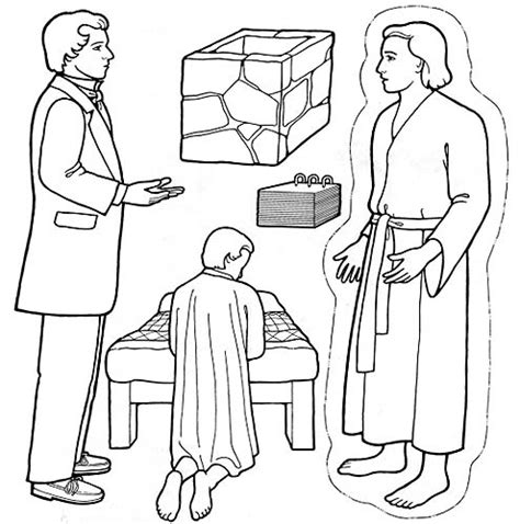lds coloring pages joseph smith joseph smith and the book of mormon friend