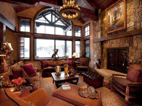 mountain homes interiors 20 rustic living room design ideas always in trend