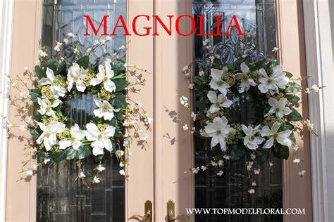 Img 3048magnolia Wreaths Front Door Unique Floral Front Door Flower Arrangements