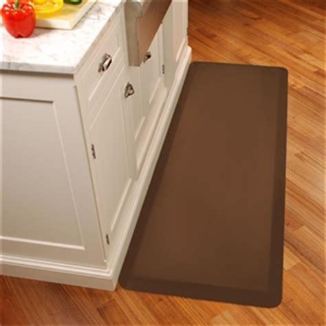 Distinctive Home Anti Fatigue Kitchen Mat - wellnessmats anti fatigue kitchen floor mat brown 6x2