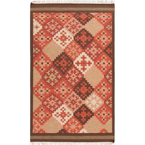 2 x 3 accent rugs artistic weavers kayero carnelian 2 ft x 3 ft flatweave accent rug kayero 23 the home depot
