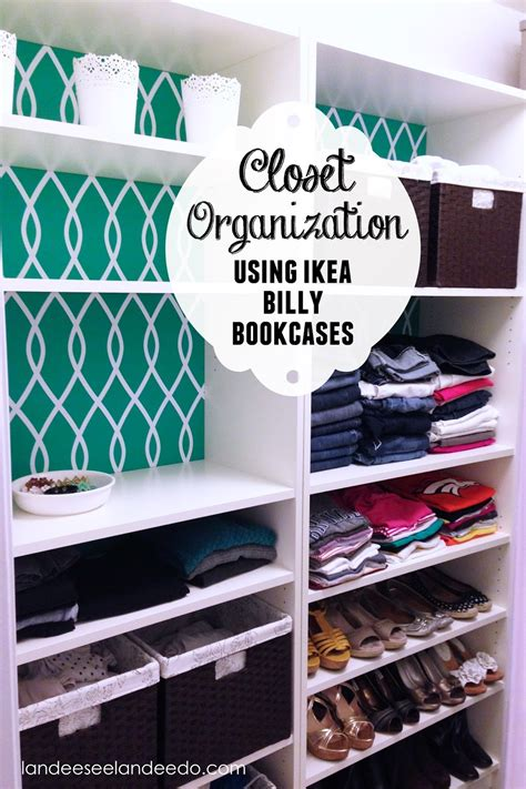 ikea bookshelf closet hack closet makeover ikea billy bookcases landeelu
