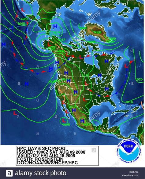 weather map of us weather map america stock photo royalty free image