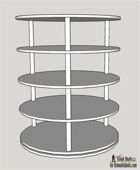shoe rack plans cosmecol 25 best ideas about rotating shoe rack on