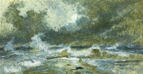 painting images havet i opror holger drachmann china wholesale oil