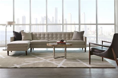 Wasser Furniture by American Leather Ainsley Sofa Sectional
