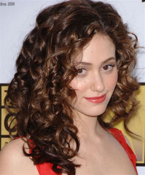 full volume curls hairstyle emmy rossum curly hair www pixshark com images