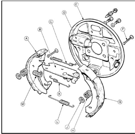 ford focus rear brakes diagram wiring diagram