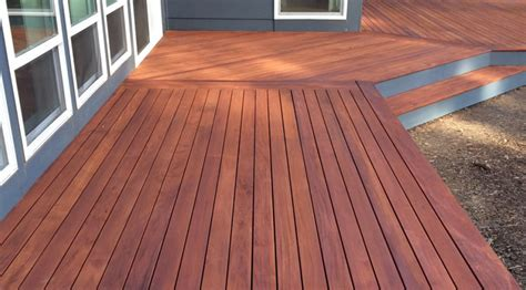 mahogany decking genuine mahogany decking