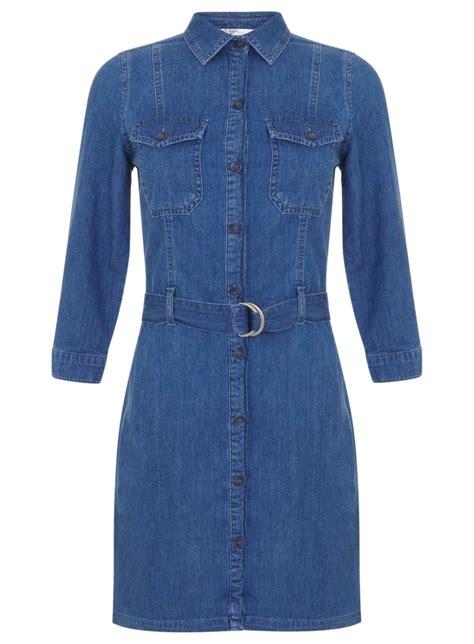 Dress Ebuty Denim utility denim shirt dress miss selfridge