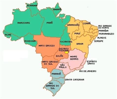 brasile costa rica br 233 sil carte g 233 ographique