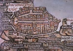 mosaik le madaba map