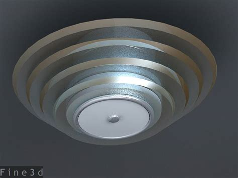 ceiling l collection 3 3d model max obj 3ds cgtrader