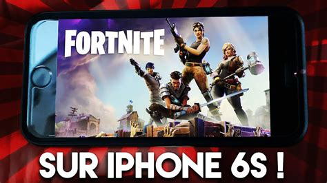 fortnite sur iphone 6s mon experience
