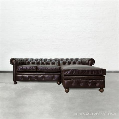 chesterfield chaise end sofa chaise sectional chesterfield