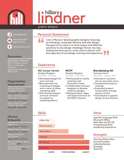 Graphic Design Internship Google | design resume with job description google search