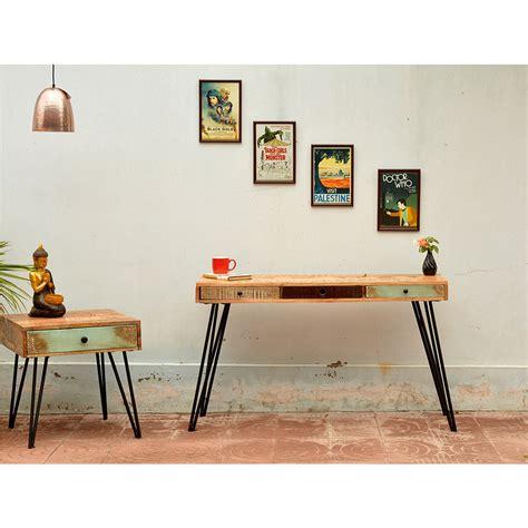 table en bois vintage table de chevet vintage en bois fusion by drawer