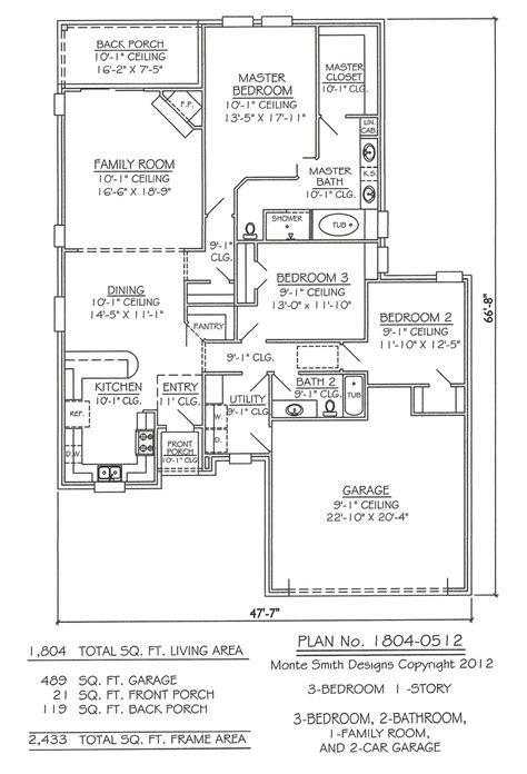 floor plan car 3 car tandem garage house plans decor23
