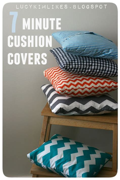 easy couch cushion covers 25 best ideas about cushion covers on pinterest recover
