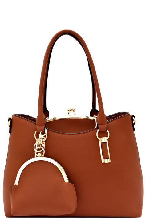 Tas Wanita Totte Bag Set 3in1 bs1255p s wine metal handle lock frame inner bag 3 in 1 tote set