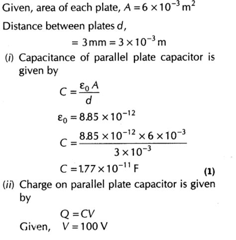 a fully charged parallel plate capacitor remains connected parallel plate capacitor homework lib 28 images an uncharged capacitor has parallel plates