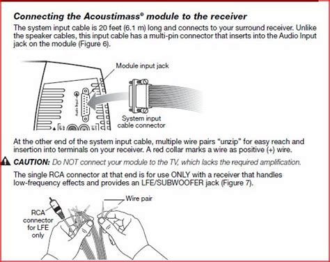 bose acoustimass 10 wiring diagram periodic diagrams