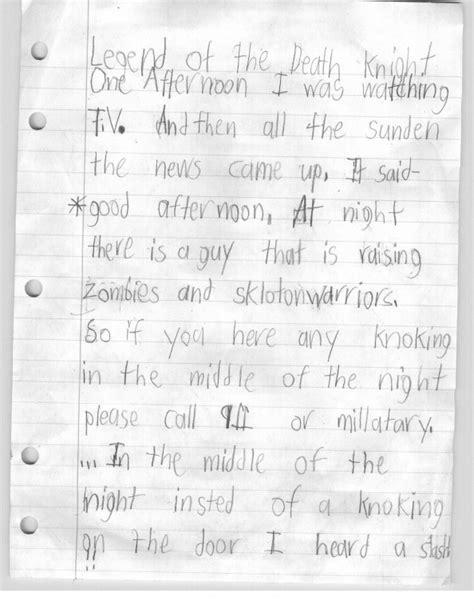 3rd Grade Essay Format by N