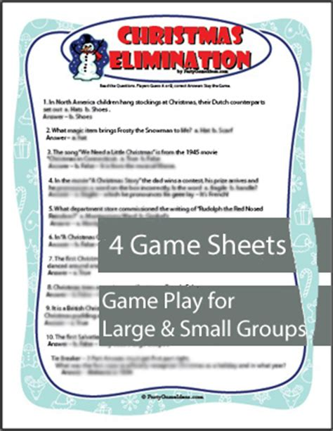 xmas games for large groups office for large groups decore
