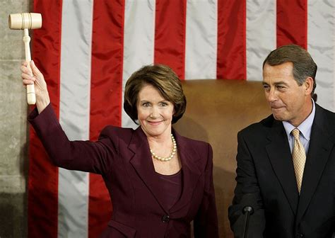 Nancy Pelosi Rocks With A Gavel Indeed are house democrats the rolling stones of american politics