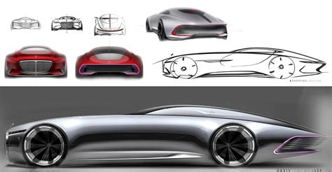 maybach mercedes concept vision mercedes maybach 6 electric vehicle concept is out