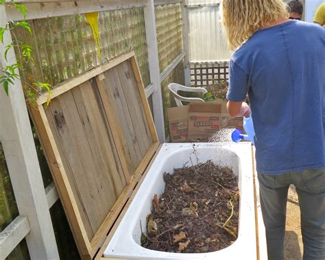 the worm farm seat permaculture
