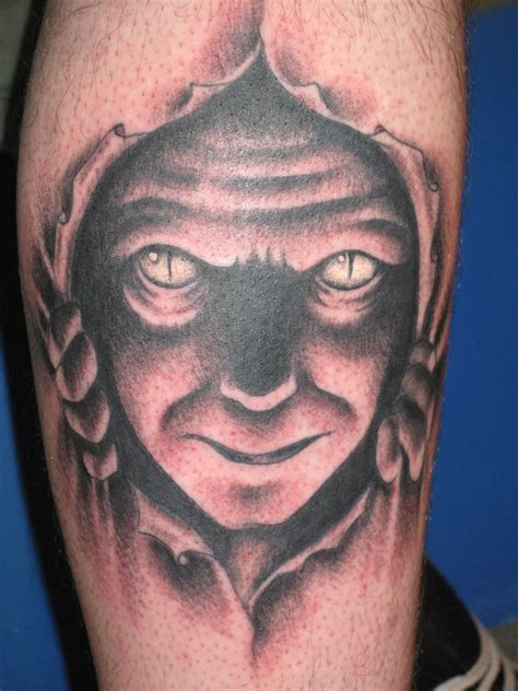 devil face tattoo designs images designs